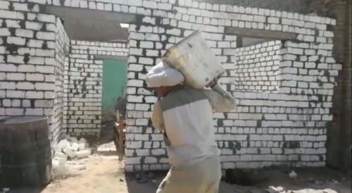 بناء منازل وأسقف - أسوان - نوفمبر 2019
