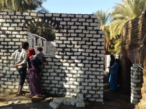 بناء منازل وأسقف - الأقصر - فبراير 2018