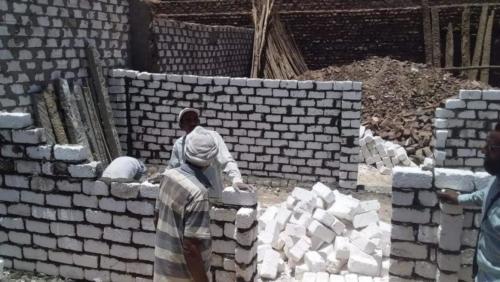 بناء منازل وأسقف - الأقصر - يونيو 2019