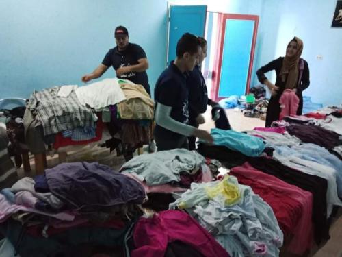 توزيع ملابس - الأقصر - يناير 2020