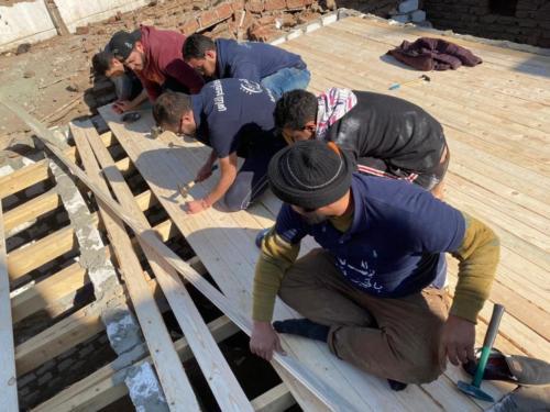 بناء منازل وأسقف - الأقصر - يناير 2020