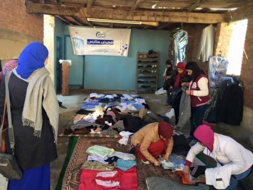 معرض ملابس قرية المنشي - يناير 2016