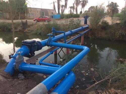 محطة مياه الفحيرة والميات - قنا - 100 ألف مستفيد - 2019-2020