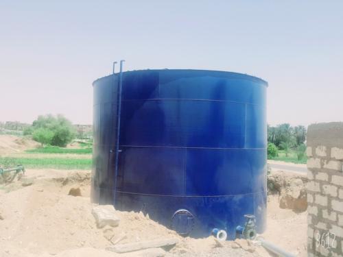 محطة مياه عزبة جبريل - قنا - 8000 مستفيد - يونيو 2019